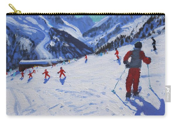 The Ski Instructor Carry-all Pouch