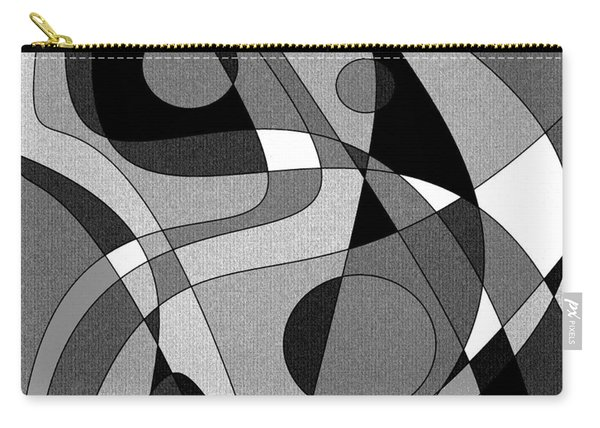 The Soloist - Black And White Carry-all Pouch