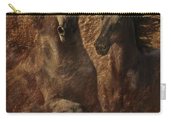 The Spirit Of Black Sterling Carry-all Pouch