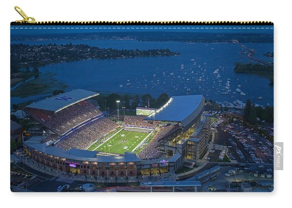 Husky Stadium And The Lake Carry-all Pouch
