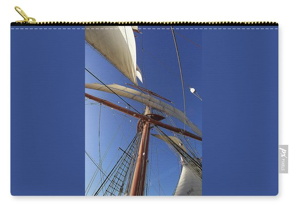 The Star Of India. Mast And Sails Carry-all Pouch