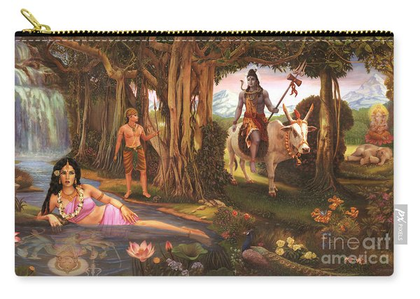 The Story Of Ganesha Carry-all Pouch