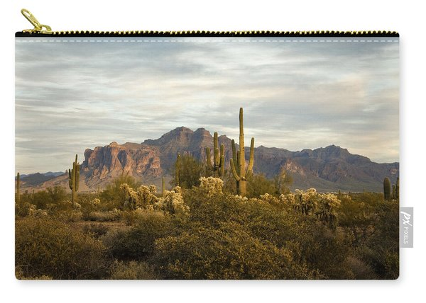 The Superstition Mountains Carry-all Pouch