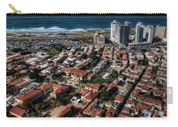 the Tel Aviv charm Carry-all Pouch