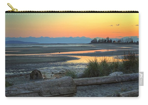 The Tide Is Low Carry-all Pouch