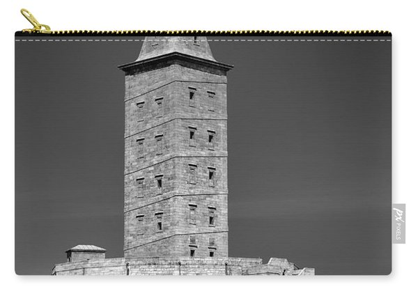 The Tower Of Hercules Lighthouse 2nd Century Carry-all Pouch