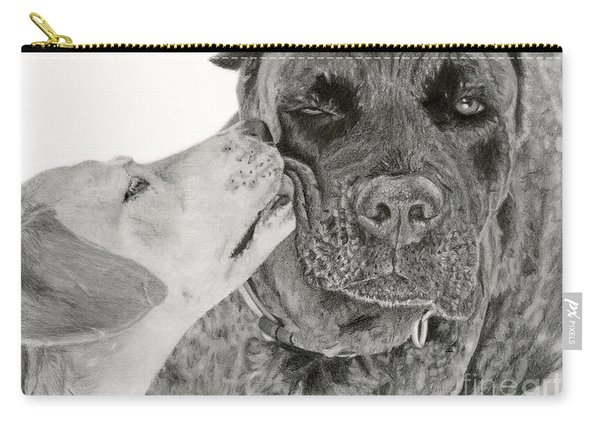 The Unconditional Love Of Dogs Carry-all Pouch