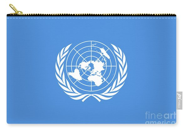 The United Nations Flag  Authentic Version Carry-all Pouch
