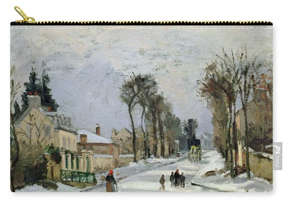 The Versailles Road At Louveciennes Carry-all Pouch