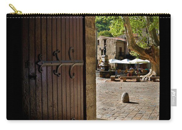 The Village Square Seen Carry-all Pouch
