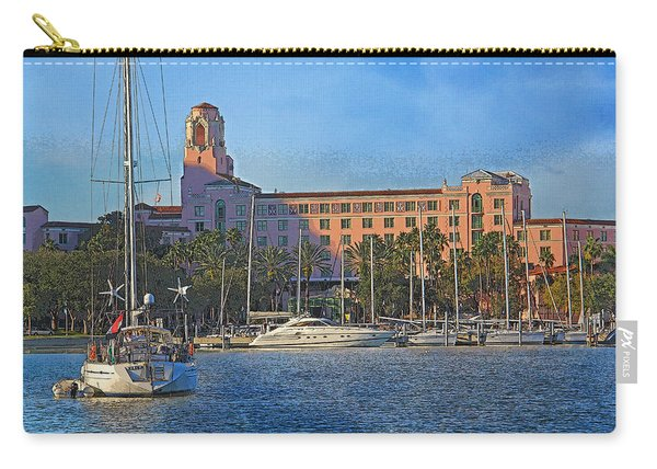 The Vinoy Park Hotel Carry-all Pouch