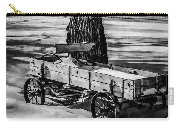 The Wagon Bw Carry-all Pouch