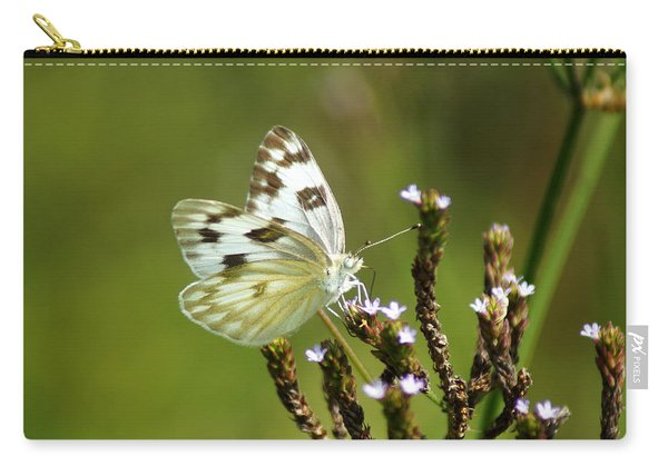 The Western White Carry-all Pouch