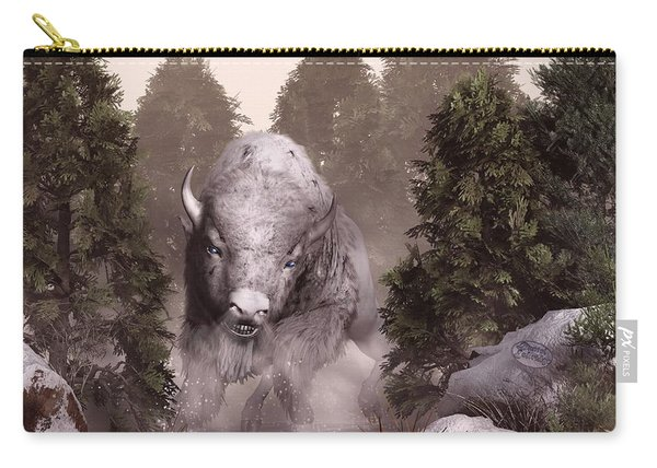 The White Buffalo Carry-all Pouch