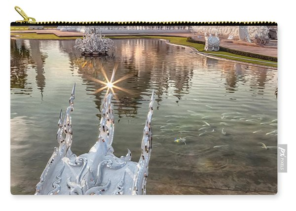 The White Temple Carry-all Pouch
