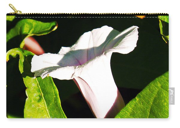 The White Trumpet Carry-all Pouch