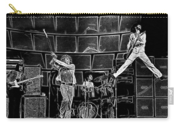 The Who - A Pencil Study - Designed By Doc Braham Carry-all Pouch