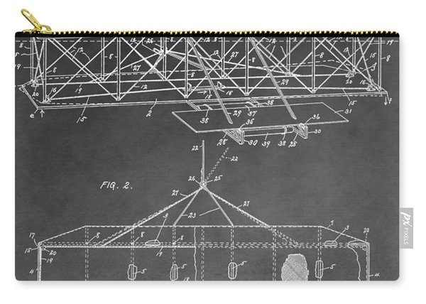 The Wright Brothers Airplane Carry-all Pouch