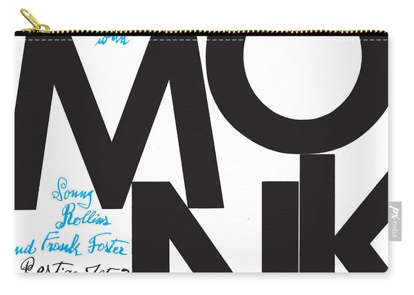 Thelonious Monk -  Monk (prestige 7053) Carry-all Pouch