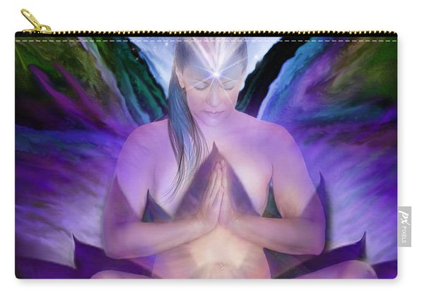 Third Eye Chakra Goddess Carry-all Pouch