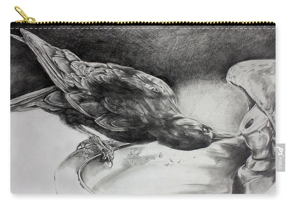 Thirsty Crow Carry-all Pouch