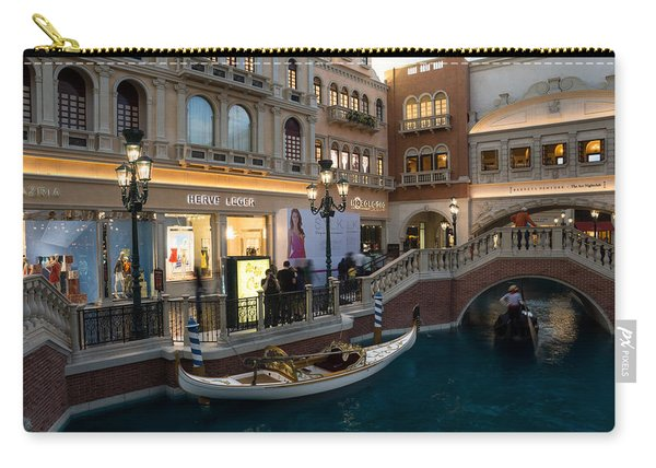 It's Not Venice - The White Wedding Gondola Carry-all Pouch