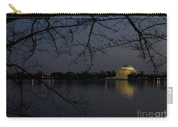 Thomas Jefferson Memorial At Night Carry-all Pouch