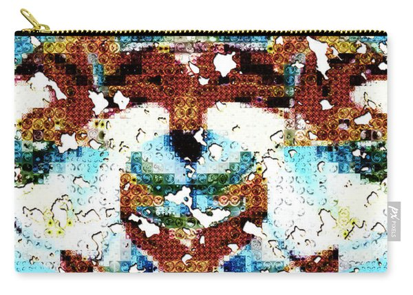 Those Darn Moths Mosaic Carry-all Pouch