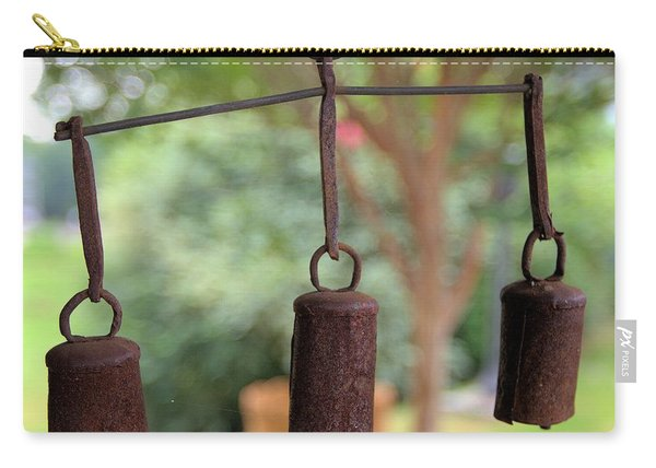 Three Bells - Square Carry-all Pouch