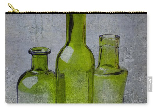 Three Green Bottles Carry-all Pouch