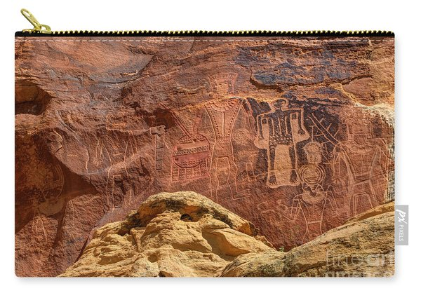 Three Kings Petroglyph - Mcconkie Ranch - Utah Carry-all Pouch