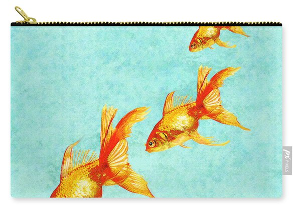 Three Little Fishes Carry-all Pouch