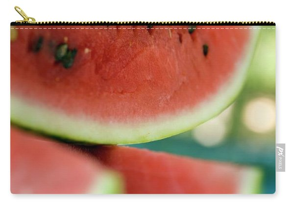 Three Slices Of Watermelon Carry-all Pouch