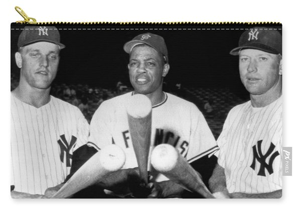 Three Slugging Outfielders Carry-all Pouch