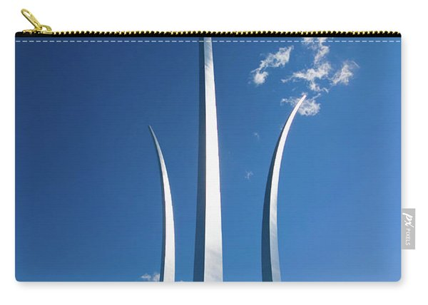 Three Soaring Spires Of Air Force Carry-all Pouch