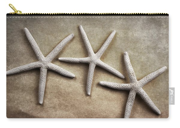 Three Starfish Carry-all Pouch