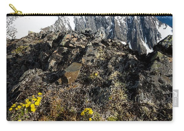 Carry-all Pouch featuring the photograph Thriving In Adversity by Tim Newton