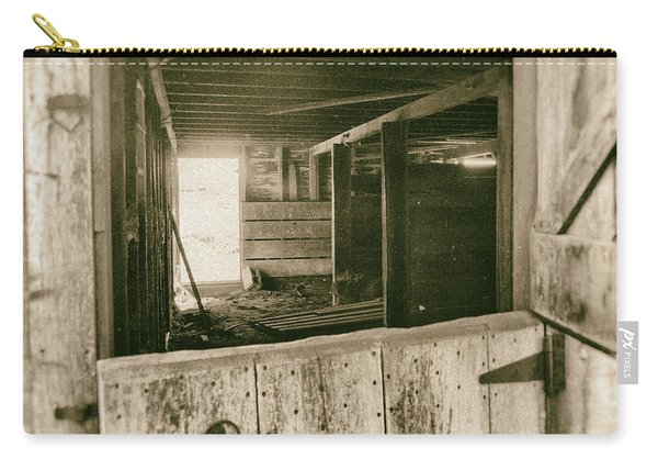 Through The Barn Door Carry-all Pouch