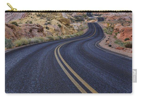 Through The Desert Carry-all Pouch