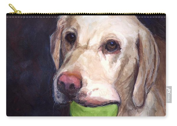 Throw The Ball Carry-all Pouch