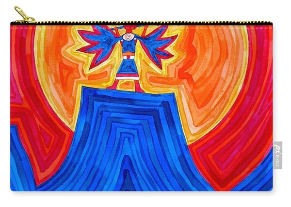 Thunderbird Original Painting Sold Carry-all Pouch