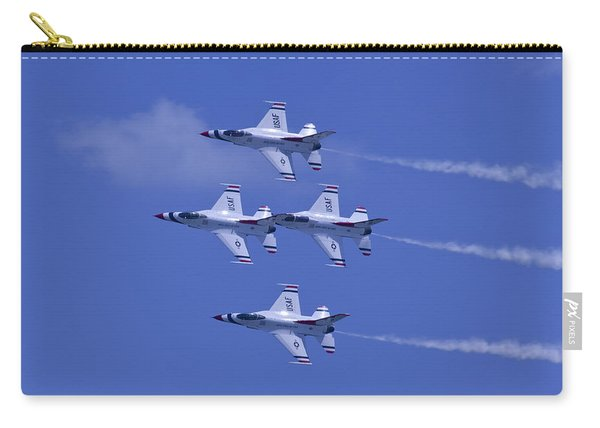 Thunderbirds Diamond Formation Topsides Carry-all Pouch