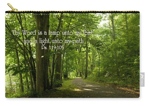 Thy Word Is A Lamp Unto My Feet Carry-all Pouch