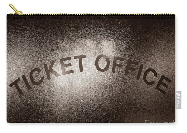 Ticket Office Window Carry-all Pouch