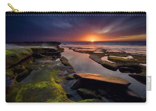 Tidepool Sunsets Carry-all Pouch