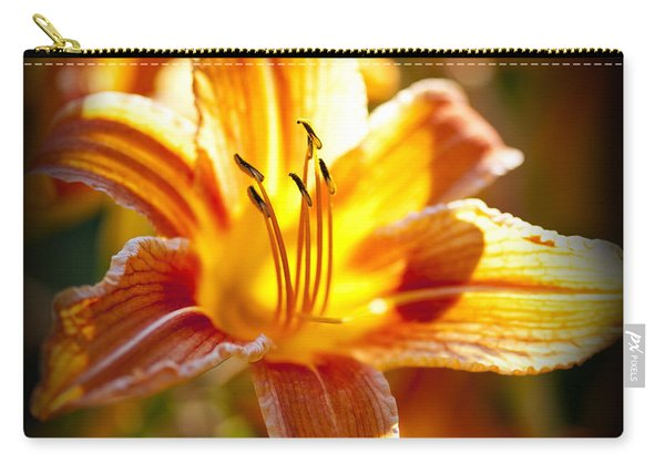 Tiger Lily Flower Carry-all Pouch