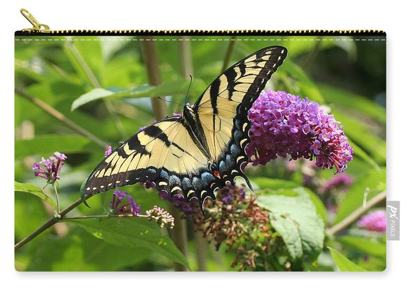 Tiger Swallowtail On Butterfly Bush Carry-all Pouch