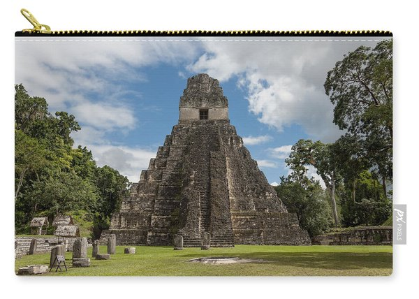 Tikal Pyramid 1j Carry-all Pouch