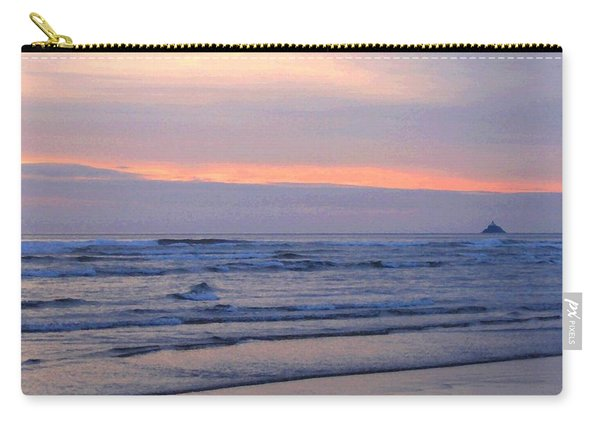 Tillamook Lighthouse Painting Carry-all Pouch