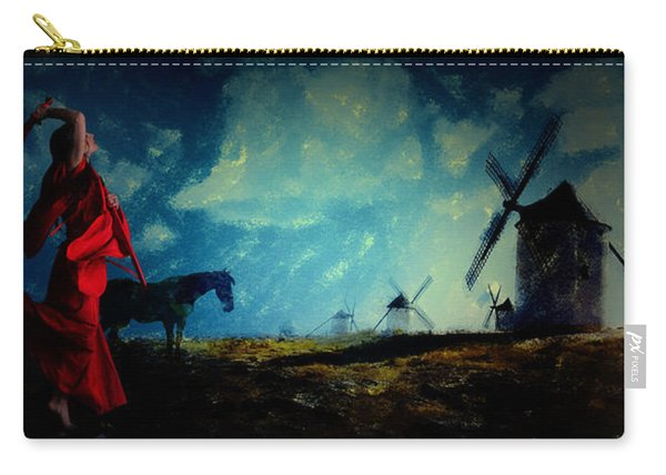 Tilting At Windmills Carry-all Pouch
